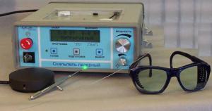 Первые лазерные медицинские установки