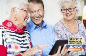 Современные занятия в сегодняшних домах престарелых